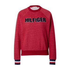 Tommy Hilfiger Underwear Bluză de molton roşu închis / navy / alb imagine