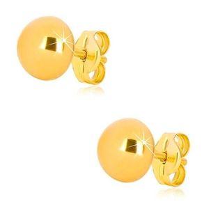 Cercei simpli aurii imagine