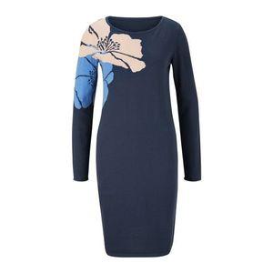 heine Rochie tricotat denim albastru imagine