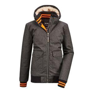 KILLTEC Geacă outdoor 'Bantry' gri metalic / negru / portocaliu imagine