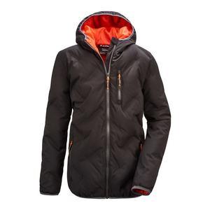 KILLTEC Geacă outdoor 'Lynge' negru / portocaliu imagine