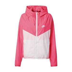 Nike Sportswear Geacă de primăvară-toamnă 'Windrunner' roz / alb imagine