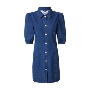 GLAMOROUS Rochie tip bluză denim albastru imagine