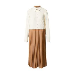 MOS MOSH Rochie tip bluză 'Fawn Cassie' maro cămilă / bej imagine