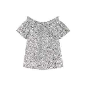 MANGO KIDS Bluză negru imagine