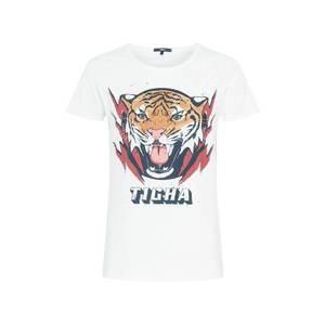 tigha Tricou 'Tiger Wren' alb / maro / roșu / negru imagine