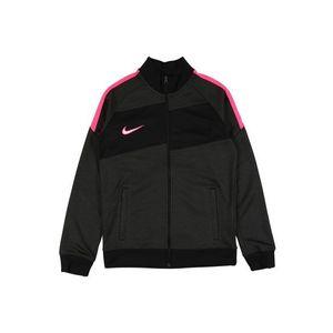 NIKE Geacă sport roz / gri / negru imagine