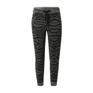 True Religion Pantaloni 'Zebra' gri / verde imagine