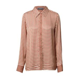 MOS MOSH Bluză 'Taylor' roșu / bej / alb imagine