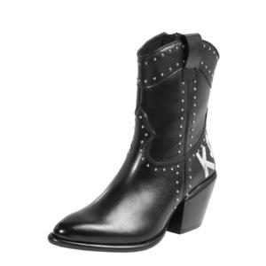 Karl Lagerfeld Cizme de cowboy 'Kavalier II' negru imagine