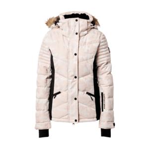 Superdry Snow Geacă outdoor 'Luxe' negru / roz deschis imagine