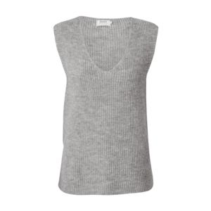ONLY Vestă tricotată gri deschis imagine