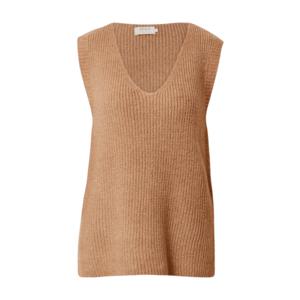 ONLY Vestă tricotată 'Cora' maro deschis imagine