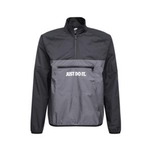 Nike Sportswear Geacă de primăvară-toamnă alb / negru / gri închis imagine