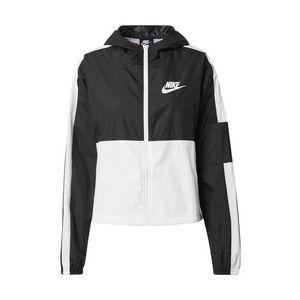 Nike Sportswear Geacă de primăvară-toamnă alb / negru imagine