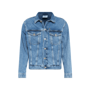 Calvin Klein Jeans Geacă de primăvară-toamnă denim albastru imagine