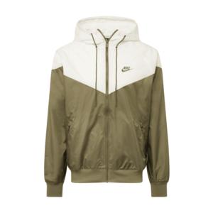 Nike Sportswear Geacă de primăvară-toamnă alb / oliv imagine