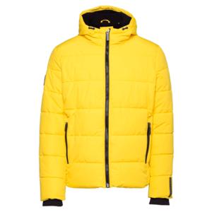 Superdry Geacă de primăvară-toamnă galben imagine