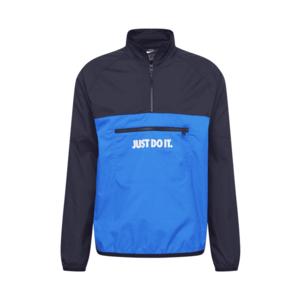 Nike Sportswear Geacă de primăvară-toamnă alb / negru / albastru imagine