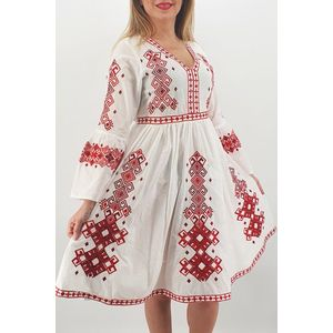 Set Traditional Rochie Mama Camasa Tata Titel Fiorela imagine