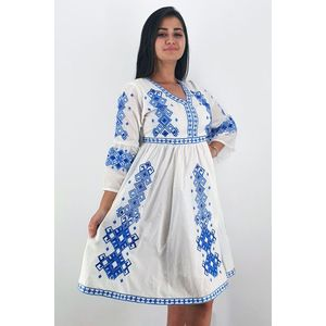 Set Traditional Rochie Mama Camasa Tata Titel Fiorela 2 imagine
