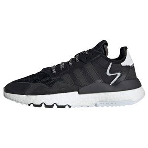 ADIDAS ORIGINALS Sneaker low 'NITE JOGGER' negru / alb imagine