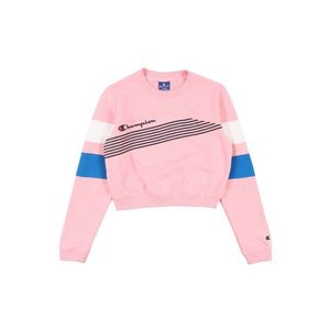 Champion Authentic Athletic Apparel Bluză de molton roz / negru / albastru / alb imagine