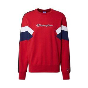 Champion Authentic Athletic Apparel Bluză de molton alb / roșu / negru / albastru imagine