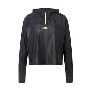 NIKE Geacă sport 'Air' verde neon / negru imagine