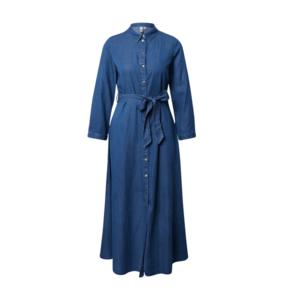 PIECES Rochie tip bluză denim albastru imagine