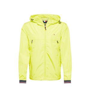 TOMMY HILFIGER Geacă de primăvară-toamnă alb / galben neon / navy / roșu imagine