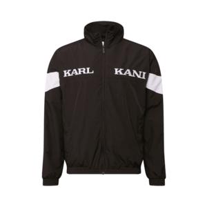 Karl Kani Geacă de primăvară-toamnă 'Retro Tape' alb / negru imagine