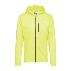 ADIDAS PERFORMANCE Geacă sport 'Own the Run' galben neon / gri deschis imagine