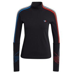 ADIDAS ORIGINALS Tricou negru / albastru / roșu / alb imagine