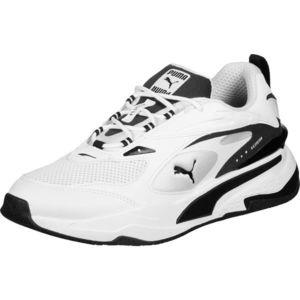 PUMA Sneaker low 'RS-FAST' alb / negru / gri imagine
