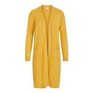 VILA Geacă tricotată 'Kib' galben auriu imagine
