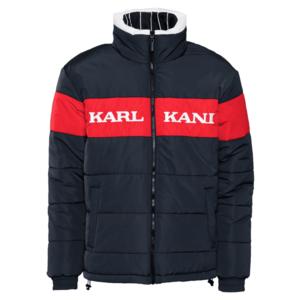 Karl Kani Geacă de iarnă ' Retro Block Reversible Puffer ' albastru imagine