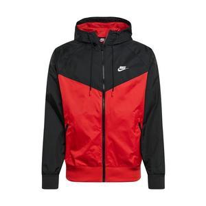 Nike Sportswear Geacă de primăvară-toamnă negru / roșu imagine