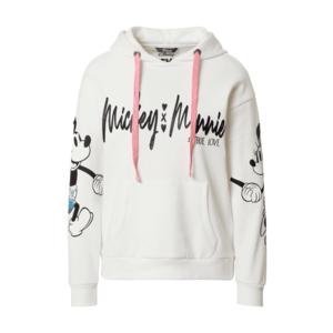 PRINCESS GOES HOLLYWOOD Bluză de molton 'Mickey & Minnie' alb imagine