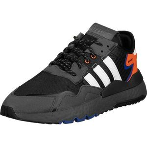ADIDAS ORIGINALS Sneaker low 'Nite Jogger' negru / alb / albastru / coral imagine