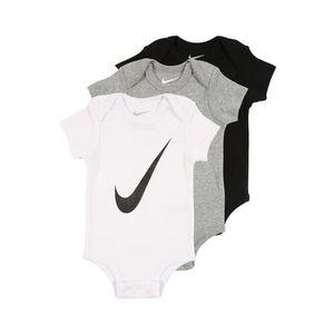 Nike Sportswear Salopetă/Body gri / negru / alb imagine