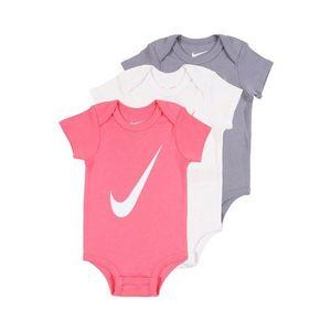Nike Sportswear Salopetă/Body roz / gri / alb imagine