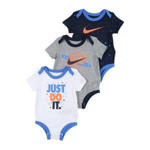 Nike Sportswear Salopetă/Body navy / gri amestecat / alb / portocaliu imagine