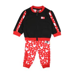 ADIDAS PERFORMANCE Costum de trening negru / roșu / alb imagine