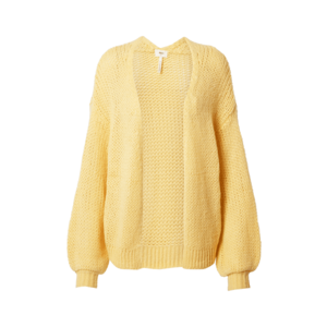 OBJECT Geacă tricotată galben imagine