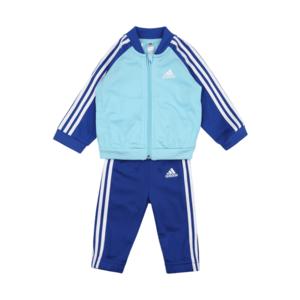 ADIDAS PERFORMANCE Costum de trening albastru închis / alb / turcoaz imagine