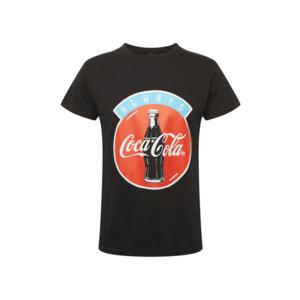 Mister Tee Tricou 'Always Coca Cola' roșu / negru / alb / albastru deschis imagine