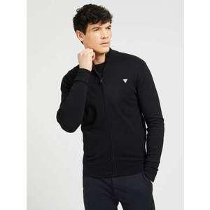 GUESS Geacă tricotată negru imagine