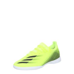 ADIDAS PERFORMANCE Ghete de fotbal 'X Ghosted.3' verde neon / negru imagine