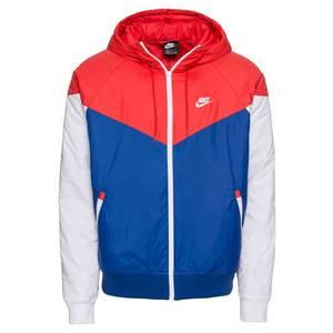 Nike Sportswear Geacă de primăvară-toamnă albastru / roșu / alb imagine